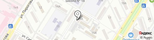 Ногтевая студия на карте Новокуйбышевска