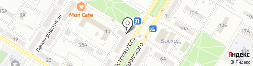 Почтовое отделение №6 на карте Новокуйбышевска