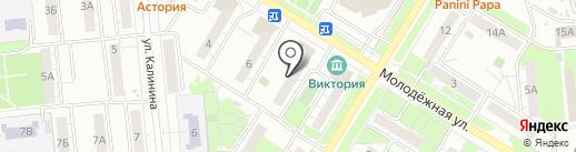 Отдел военного комиссариата Самарской области по г. Новокуйбышевску на карте Новокуйбышевска