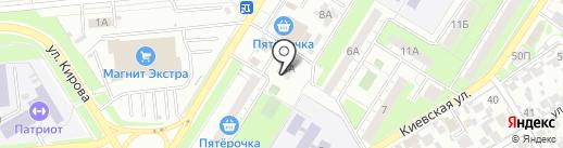 Адвокатский кабинет №587 на карте Новокуйбышевска