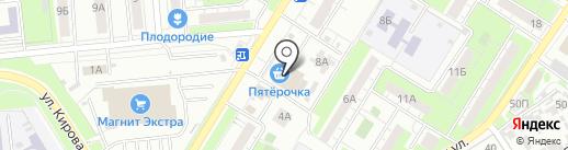 Банкомат, Первый Объединенный Банк на карте Новокуйбышевска