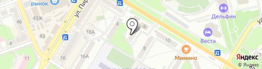 ФОТИК-СИТИ на карте Новокуйбышевска