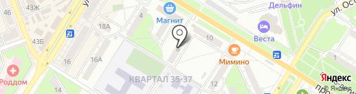 НовоКС на карте Новокуйбышевска