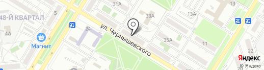 ТЕХНОПЛЮС на карте Новокуйбышевска