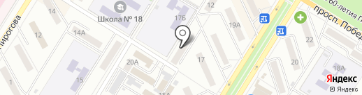 Орифлейм на карте Новокуйбышевска