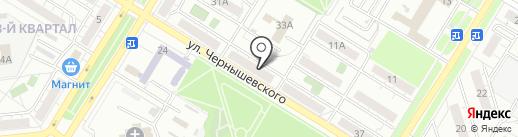 Самара-Восток-Сервис на карте Новокуйбышевска