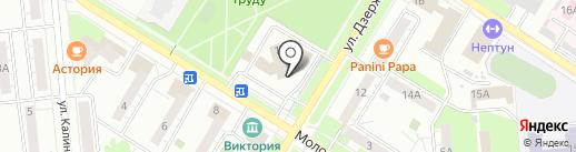 БКГ на карте Новокуйбышевска