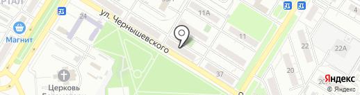 Ассорти на карте Новокуйбышевска
