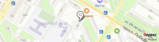 Техник-Сан на карте Новокуйбышевска