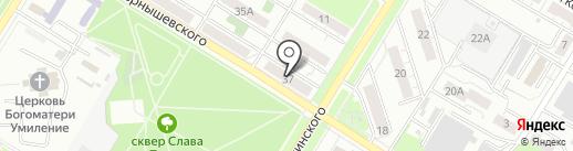 КОНСИБ на карте Новокуйбышевска