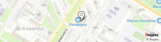 Банкомат, Банк ВТБ 24 на карте Новокуйбышевска