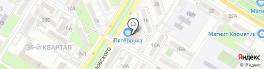 Фронтайм на карте Новокуйбышевска