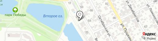 Мастерская по пошиву авточехлов на карте Новокуйбышевска