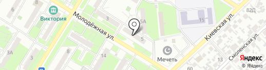 Электроклуб на карте Новокуйбышевска