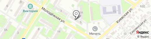 Центр ГИМС МЧС России по Самарской области на карте Новокуйбышевска