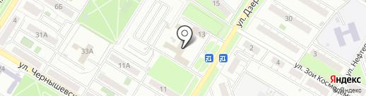 Единая сервисная служба на карте Новокуйбышевска