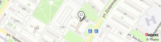 Синель на карте Новокуйбышевска