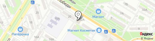 Клуб Здорового Образа Жизни на карте Новокуйбышевска