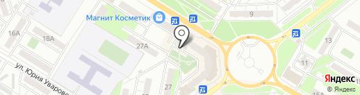 Почтовое отделение №4 на карте Новокуйбышевска