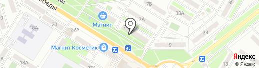 Аптека.ру на карте Новокуйбышевска
