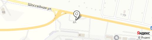 АЗС ТатНефтеПродукт на карте Новокуйбышевска