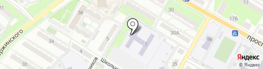 Основная общеобразовательная школа №6 с дошкольным отделением на карте Новокуйбышевска