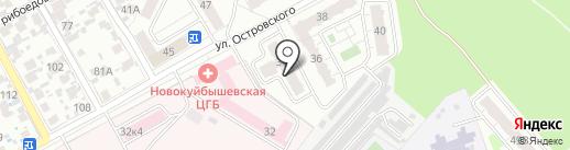 Сенсоры, Модули, Системы на карте Новокуйбышевска