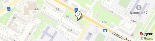 Бизнес-Персонал на карте Новокуйбышевска