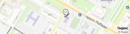 СантехСервис на карте Новокуйбышевска