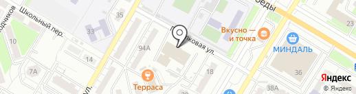 СЦ СТАРТ на карте Новокуйбышевска