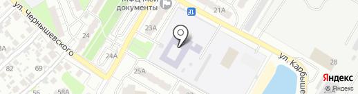 Средняя общеобразовательная школа №19 с дошкольным отделением на карте Новокуйбышевска