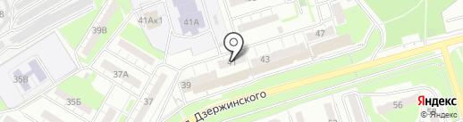 Курсы Гражданской Обороны на карте Новокуйбышевска
