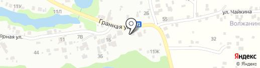 В Гранном на карте Новокуйбышевска