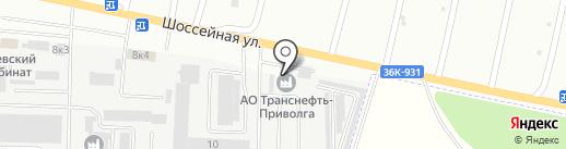 Банкомат, Сбербанк, ПАО на карте Новокуйбышевска