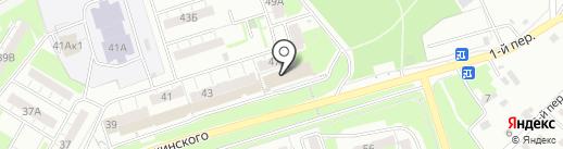 Бар на карте Новокуйбышевска