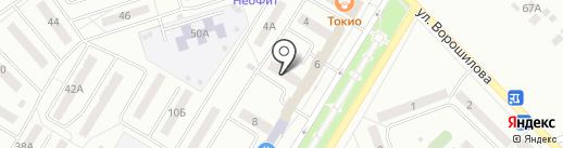 Пивасъ на карте Новокуйбышевска