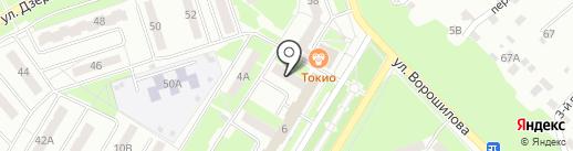 Немецкий Дом на карте Новокуйбышевска
