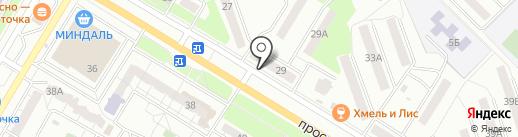 Банкомат, Промсвязьбанк, ПАО на карте Новокуйбышевска