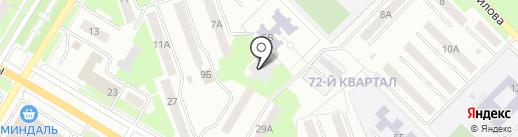 Светлячок на карте Новокуйбышевска