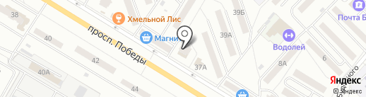 Камелот на карте Новокуйбышевска