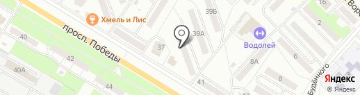 Лидер на карте Новокуйбышевска