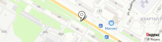 Бистро на карте Новокуйбышевска