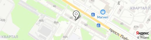 Океан на карте Новокуйбышевска