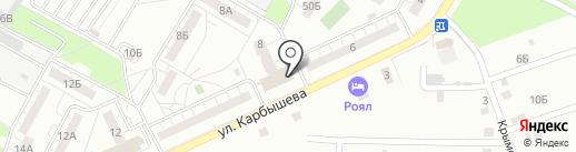 Общественный совет №9 на карте Новокуйбышевска