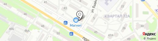 Кулинария на карте Новокуйбышевска