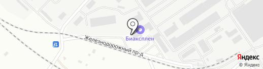 Вкусная страна на карте Новокуйбышевска