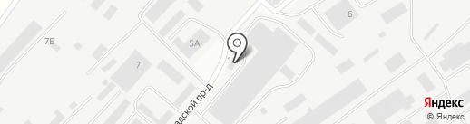 Нова на карте Новокуйбышевска