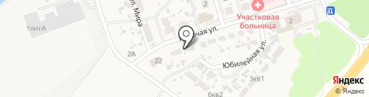 Почтовое отделение на карте Воскресенки