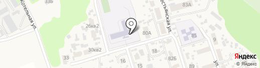Воскресенская средняя общеобразовательная школа на карте Воскресенки
