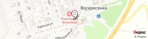 Продуктовый магазин на карте Воскресенки